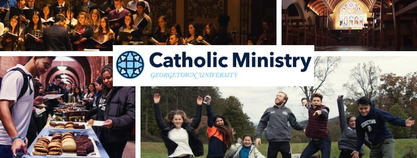 Catholic Ministry Banner