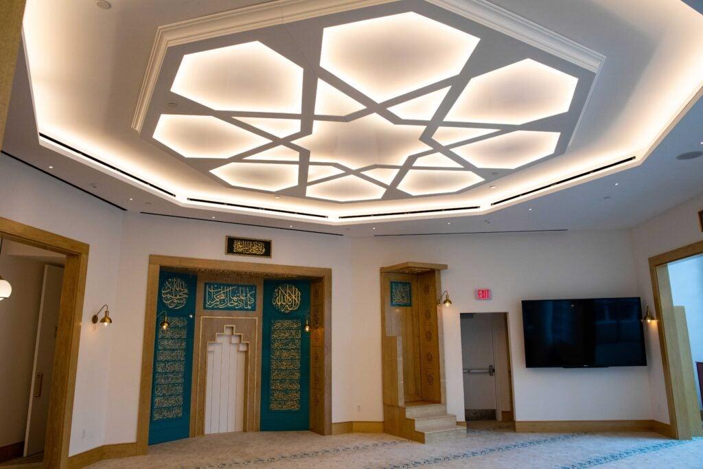 interior of Masjid